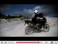 Vidéo officielle des Triumph 800 Tiger 2011