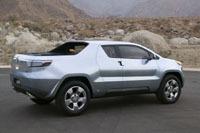 Salon de Détroit: Toyota A-BAT hybrid pick-up concept