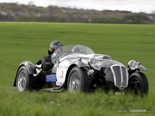Photos du jour : Frazer Nash Le Mans Replica (Tour Auto)
