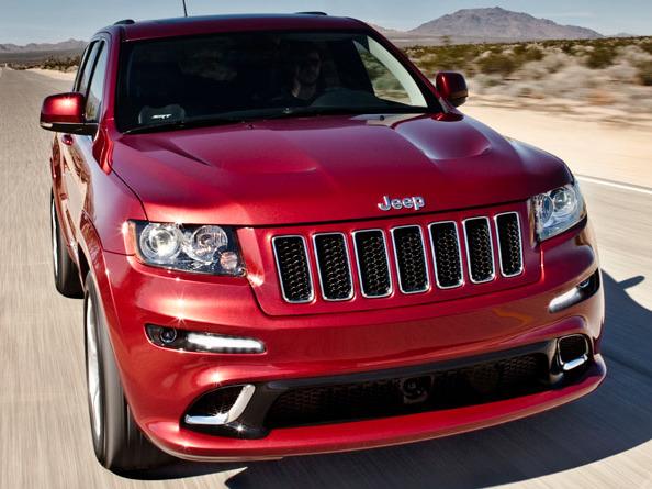 Salon de Francfort 2011 - Le Jeep Grand Cherokee SRT8 arrive