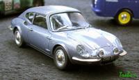 Miniature : 1/43ème - coupé CG Simca 1200S