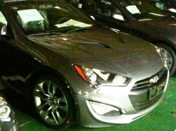 Restyling Hyundai Genesis Coupe : c'est lui