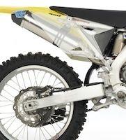 Leo Vince: ligne X3 pour la Suzuki RM-Z 450 version 2011.
