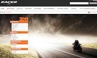 Racer donne un coup de jeune à son site internet.