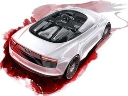 Mondial de Paris - L'Audi E-Tron Sypder: comme ça?