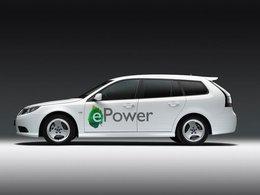 Mondial de Paris 2010 : le prototype électrique Saab 9-3 ePower