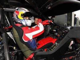 Loeb en GT Sprint Series en 2013 sur une McLaren