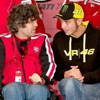 Moto GP - Test Valence: Les premières images de Rossi sur la Ducati et de Stoner sur la Honda