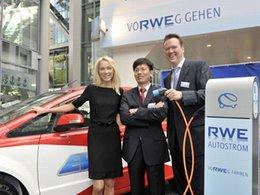 Véhicules électriques et hybrides en Europe : BYD et RWE partenaires
