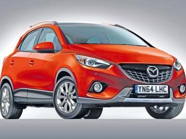 Mazda prépare un CX-3 pour 2014
