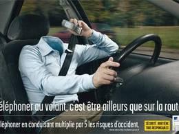 Sécurité routière: l'inattention au volant est le nouveau fléau