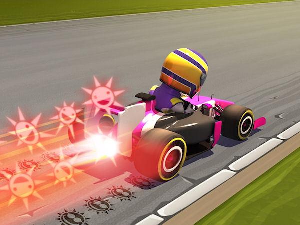 F1 Race Stars : le test