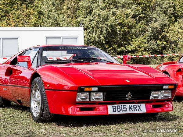 Photos du jour : Ferrari 288 GTO (Les Grandes Heures de L'Automobile)