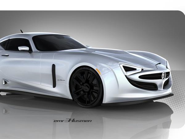 Design - Jaguar E-X50, entre Type E et TVR...