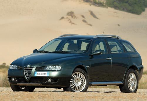 Alfa Crosswagon Q4 : une 156 SUV