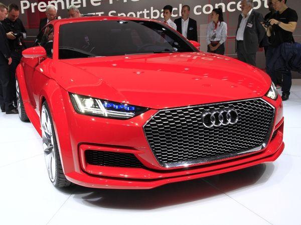 Salon de Guangzhou 2015 : Audi y dévoilera le TT Sportback