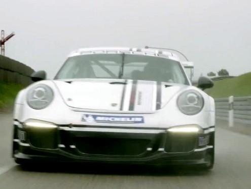 Porsche 911 (991) GT3 Cup: ça tease