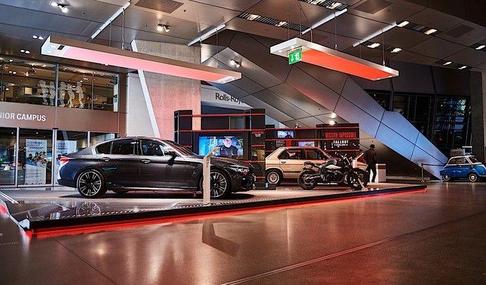 Les BMW de Mission Impossible : Fallout exposées dans le musée Welt