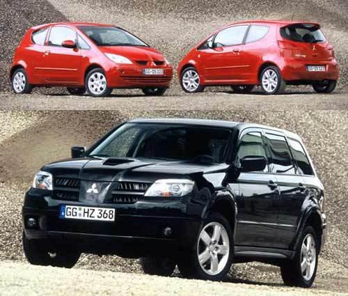 Colt CZ3, CZT Turbo 150 ch et Outlander Turbo : vedettes du stand Mitsubishi à Paris