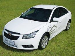 Zoom sur la Chevrolet Cruze électrique