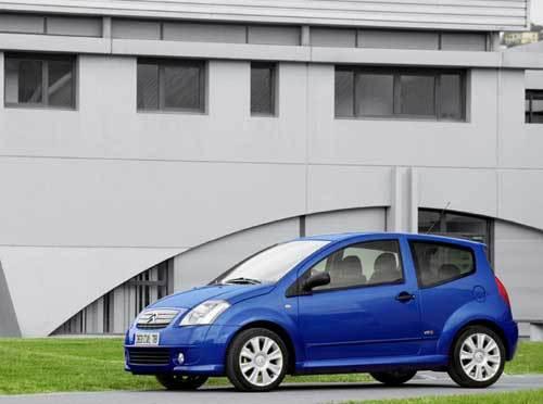 Citroën C2 VTS : la plus sportive