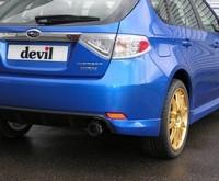 La nouvelle Subaru s'équipe en échappement..