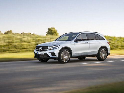 Mercedes : un GLC hydrogène à venir en 2017