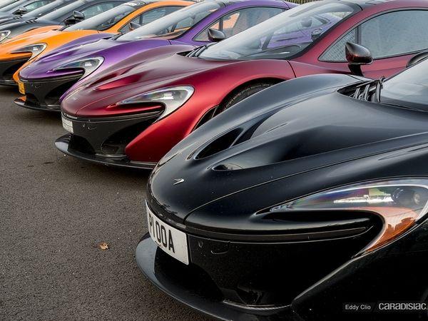 Photos du jour : McLaren P1 (McLaren Tour)