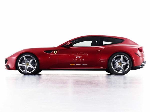 Ferrari : le FF Passion 4 Tour passe par la France