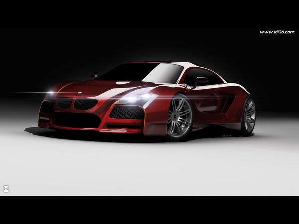 Design : BMW M Concept par Idries Noah