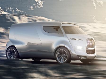 Salon de Francfort 2011 - Citroën Tubik concept en avance