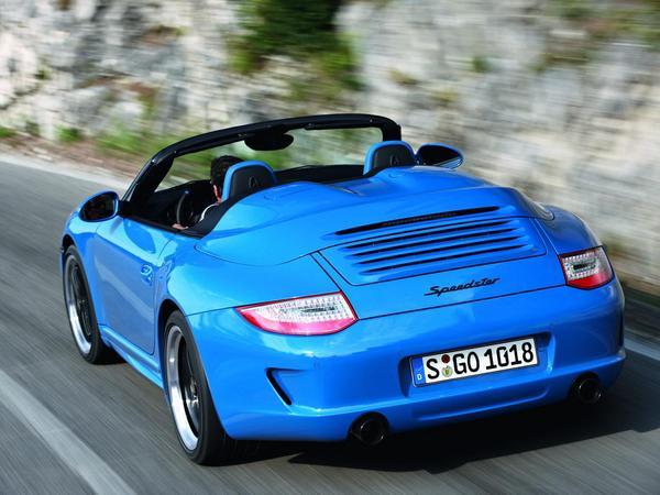 Mondial de Paris 2010 : Porsche 911 Speedster officielle, funky et limitée à 356 exemplaires