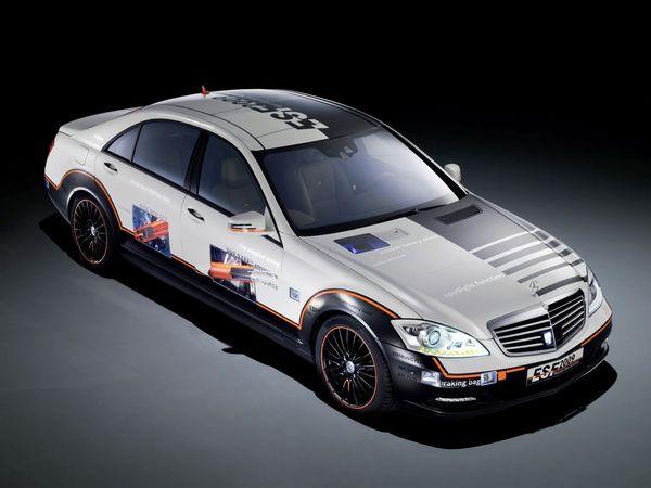 Mercedes ESF Concept 2009 : la Classe S(ûre)