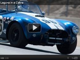AC Cobra à Laguna Seca : des performances tout à fait modernes