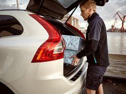 Volvo : la livraison des courses de Noël directement dans le coffre de son auto