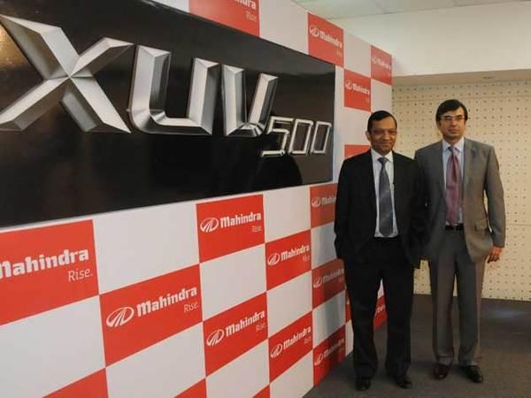 Le SUV indien de Mahindra s'appellera XUV500