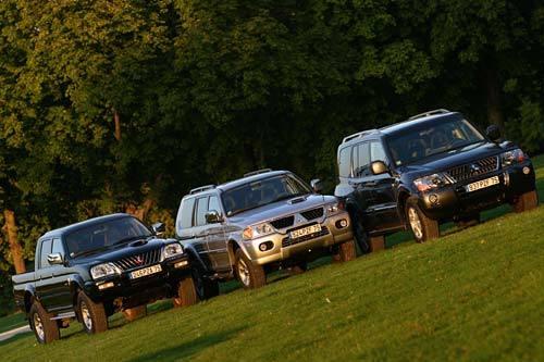 "Mitsubishi Pajero, Pajero Sport et L200 "" Xstorm "" : toujours plus exclusif"