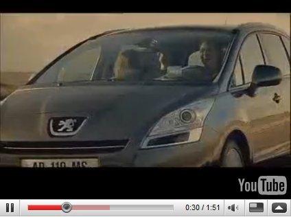 [Vidéo] : Peugeot 5008 pour les familles parfaites