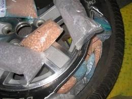 RunFlatOut : 2 millions de dollars d'ecstasy dans une roue de secours