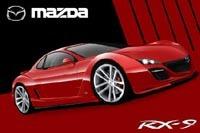 Futures Mazda RX-9 et RX-8 restylée