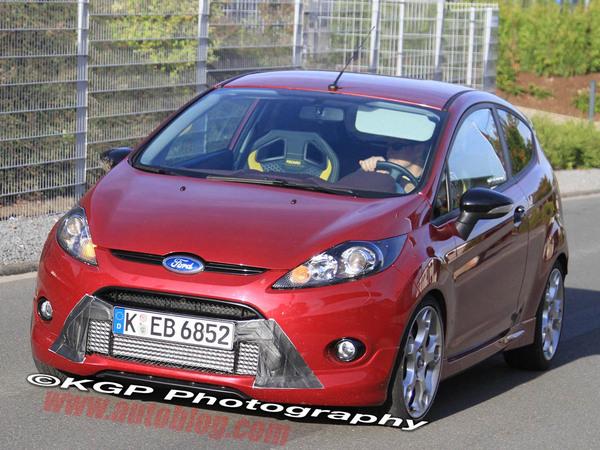 Spyshot : Ford Fiesta ST, bientôt dans la course des GTI