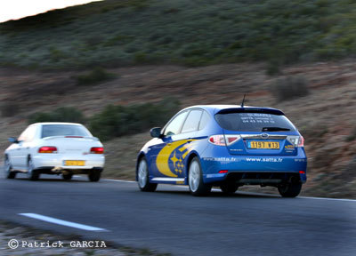 Galerie Photo : Subaru Impreza GT 1995 vs Subaru Impreza WRX 2008. 2/2