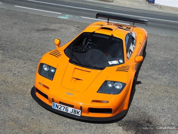 Photos du jour : McLaren F1 GTR (Le Mans)