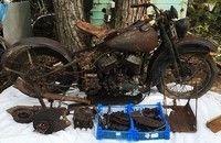 Résultats de la vente Gérard Gombert: les motos...