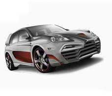 Status Design défigure un Porsche Cayenne