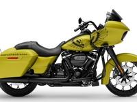 Une peinture spéciale pour le Harley-Davidson Road Glide Spécial