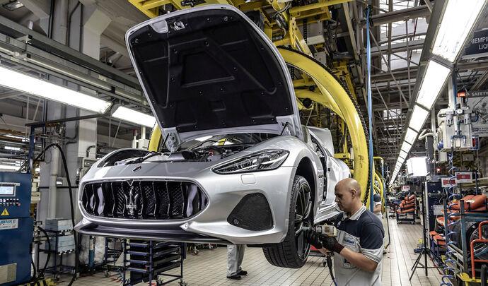 La refonte électrique de Maserati a commencé