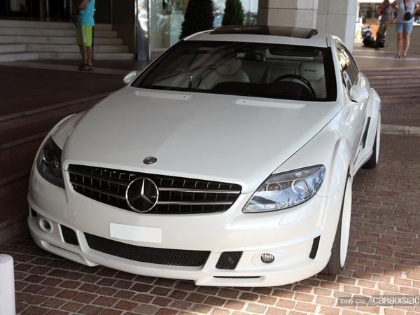 Photos du jour : Mercedes CL Fab Design
