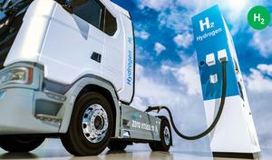 Les grandes entreprises françaises misent sur les camions à hydrogène