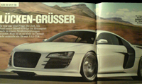 Salon de Détroit: Audi R8 V12 TDI
